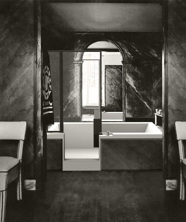 Vasca Doccia Finestre Parigine Suggeriscono L Idea