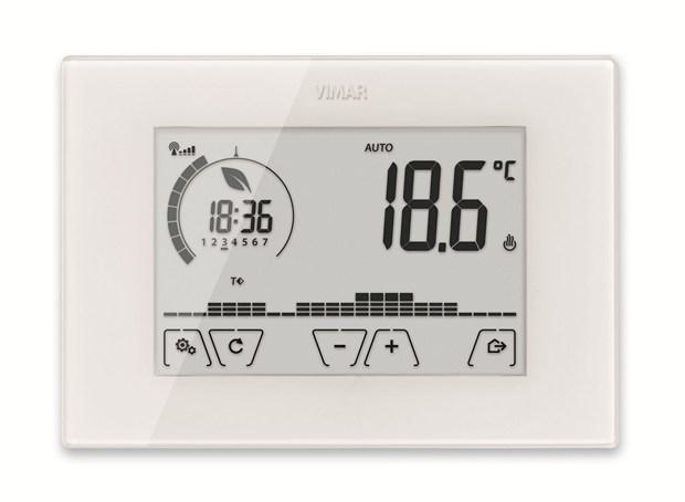Vimar presenta il nuovo cronotermostato Wi-Fi ClimaChrono: l'evoluzione del clima, da remoto