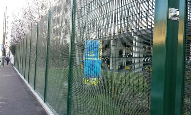 Betafence per la sicurezza di una caserma della Polizia  di Torino
