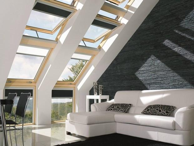Nuove finestre da tetto fakro z wave il massimo comfort for Finestre da mansarda