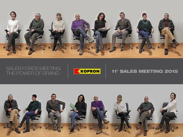 11° Sales Meeting Kopron 2015 - 'The Power of Brand: People make the difference'