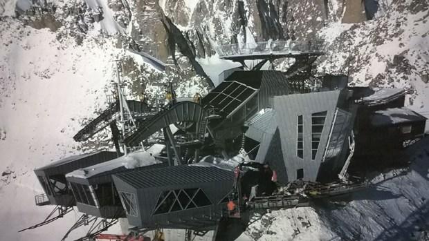 Gli inverter solari ABB per la nuova stazione funiviaria di Punta Helbronner, sul massiccio del Monte Bianco