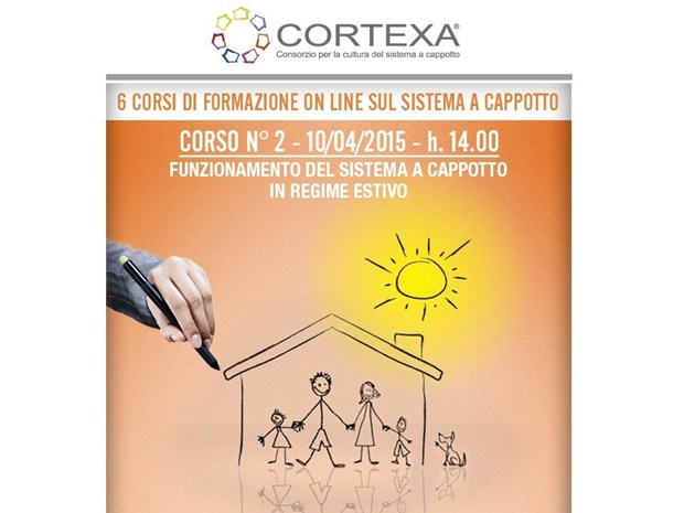 2° Webinar Cortexa 2015: L'isolamento a Cappotto in estate