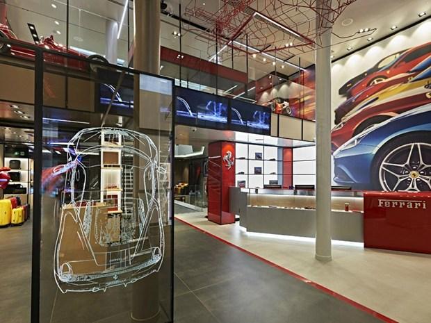 Un nuovo Ferrari flagship store nel centro di Milano