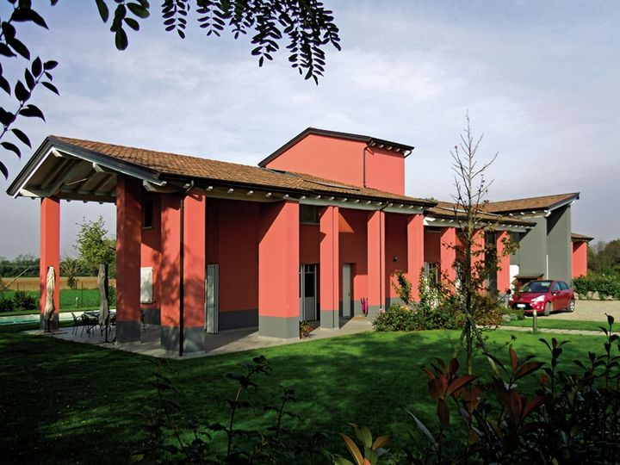 Un nuovo complesso residenziale alle porte di Parma ha scelto il sistema costruttivo in Lecablocco Bioclima Zero