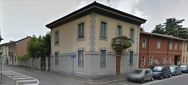 Triflex Stone Design nobilita l'accesso di una villa d'epoca a Busto Arsizio