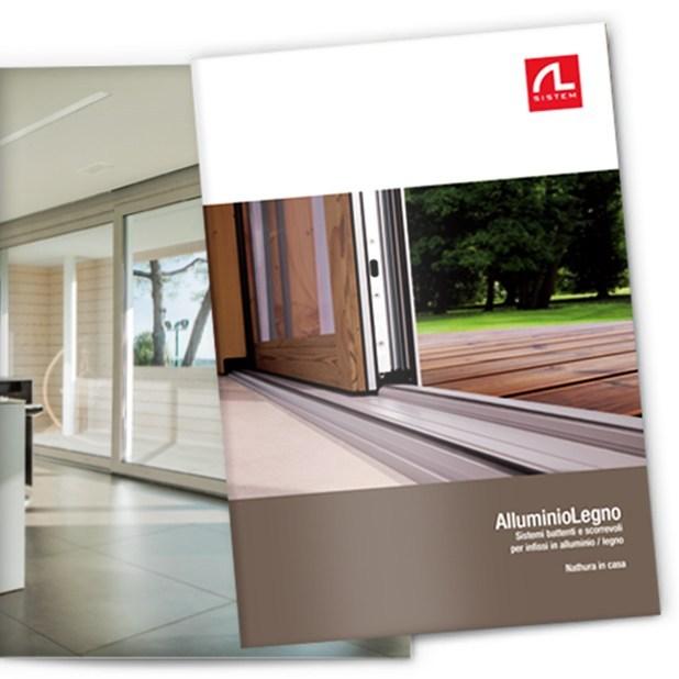 Alsistem: disponibile la nuova brochure alluminio-legno