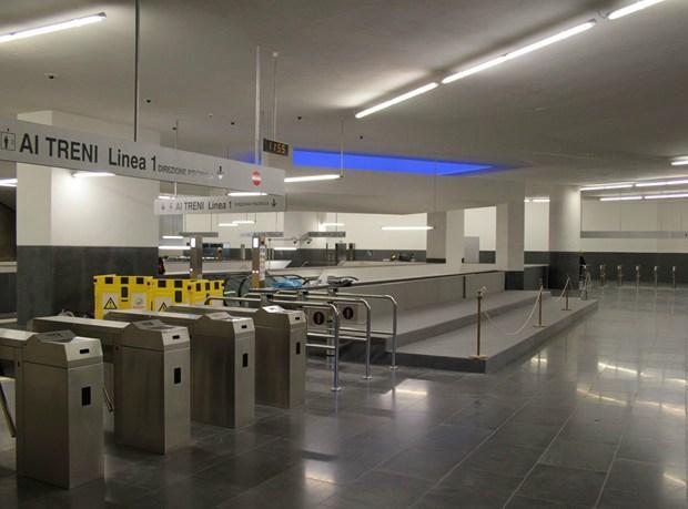 Apre la nuova stazione Municipio della metropolitana di Napoli