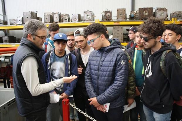 Alternanza scuola-lavoro: Master e i ragazzi dell'IISS Vito Sante Longo di Monopoli