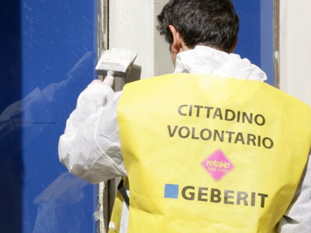 #LAVAMILANO: Geberit e Retake ripuliscono la città