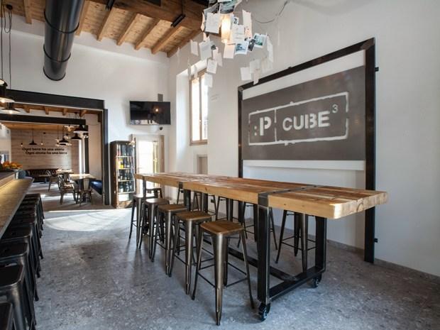 Trezzo sull\'Adda: iarchitects firma il nuovo ristorante Pcube