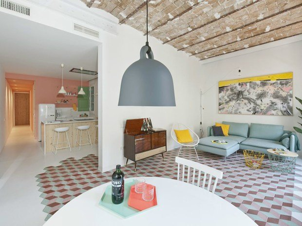Tyche Apartment: a Barcellona mix tra mediterraneo e nordico