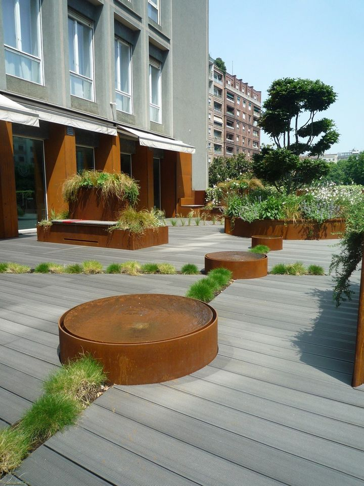 Urban City Terrace: green design nel cuore di Milano