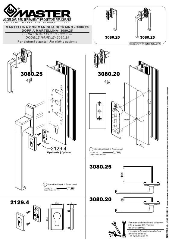 Arriva la martellina ITALIA con quadro 10 mm per i sistemi alzante a scorrere