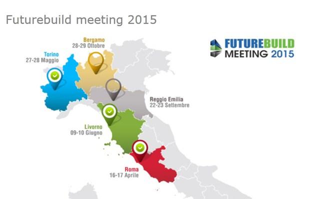 Brianza Plastica a Reggio Emilia e Bergamo per le ultime due tappe del FUTUREBUILD MEETING 2015