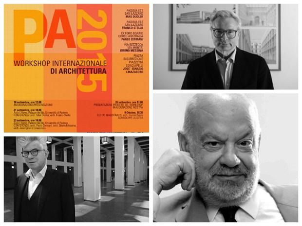 Una squadra di architetti per riqualificare 5 aree di Padova