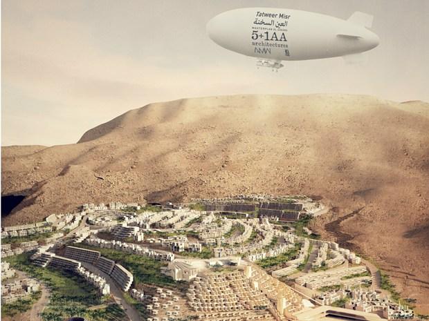 5+1AA si aggiudica l'incarico per il Masterplan 'Il Monte Galala'