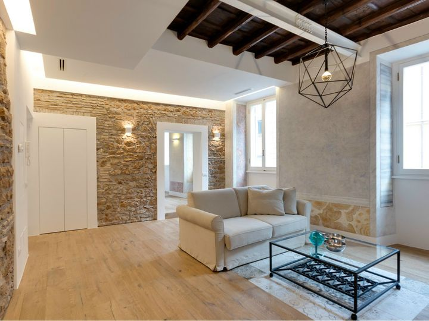 Roma un appartamento di charme in via sistina for Interni di charme