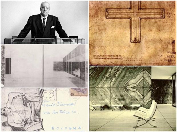 Una storia di disegni da Mies van der Rohe a Ruegenberg