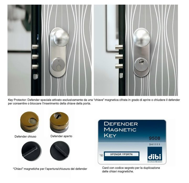 Accessori Di.Bi. anti scasso, per porte blindate sempre più resistenti agli attacchi esterni