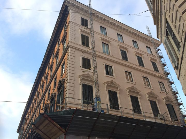 BigMat a Roma. Trecento giorni per dare un nuovo volto a un edificio storico di Via Nazionale