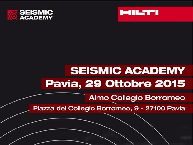 Al via a Pavia la terza edizione di 'Seismic Academy'