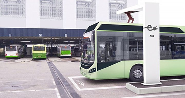 ABB presenta il sistema di ricarica veloce automatico per autobus elettrici