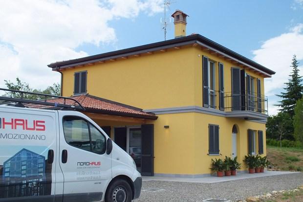 Villetta privata in Classe A. Tecnologia XLam firmata Nordhaus