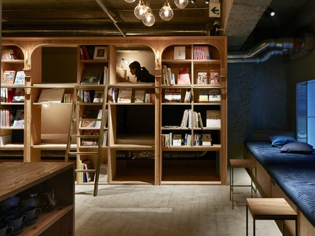 Book and Bed Tokyo: Have a Book Night!