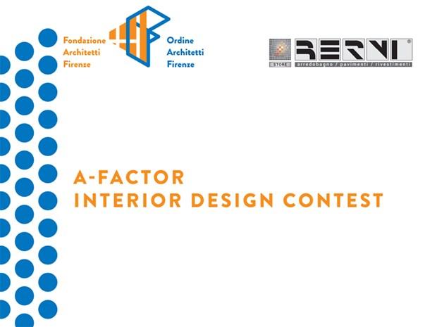 """Al via il contest di interior design """"A-Factor"""""""