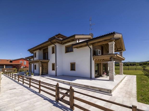 Progettazione Casa In Legno : Legno dispensatore di energia positiva il progetto casa ambrosino