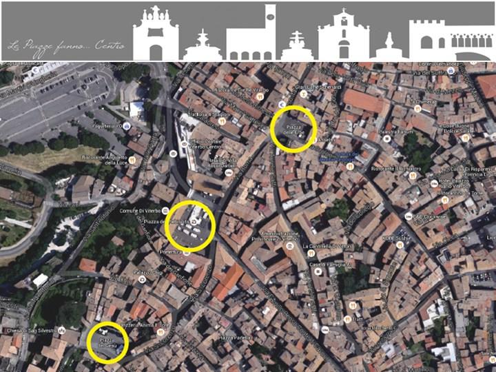 Viterbo: il Concorso di idee 'Le Piazze fanno...Centro'