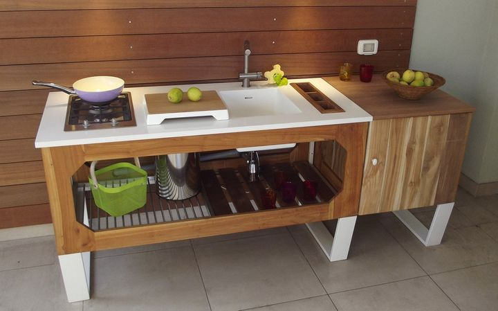 Window, la cucina Lgtek per outdoor e indoor