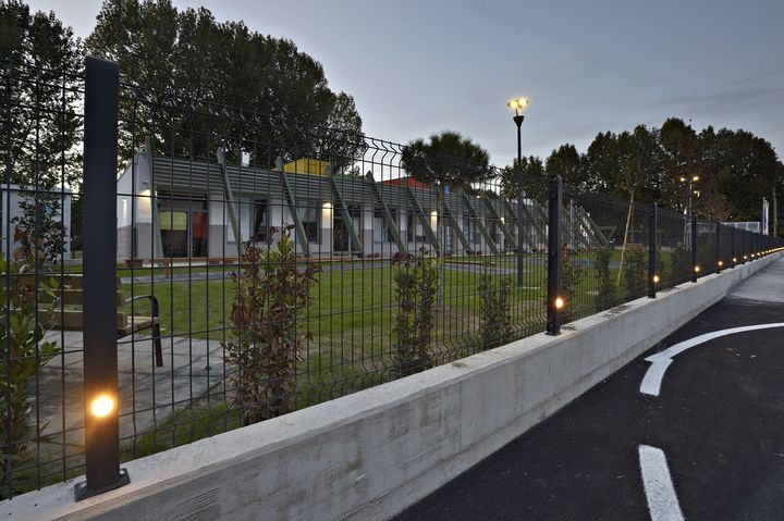 Betafence: luce sulla sicurezza perimetrale del nuovo complesso scolastico di Crevalcore (BO), costruito dopo il sisma