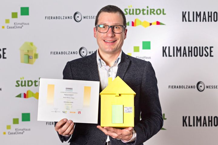 A ONYX® Home di HELLA il Klimahouse Trend Award 2016, per la categoria Sistemi Comfort