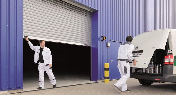 Serranda avvolgibile ad azionamento manuale SB Hörmann