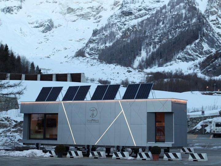 Biosphera 2.0: la casa del futuro ai piedi del Monte Bianco