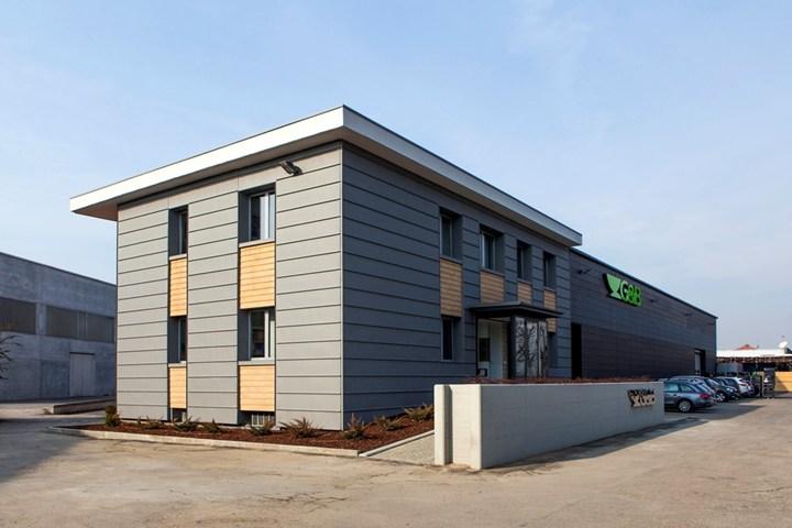VMZINC: zinco titanio versatile per la sede di un'azienda