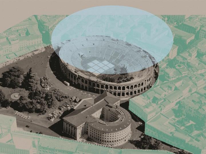 Bandito il concorso di idee per la copertura dell'Arena di Verona