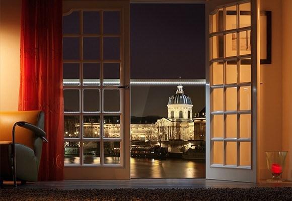 Da Q-Railing Italia il luminoso Juliet Balcony