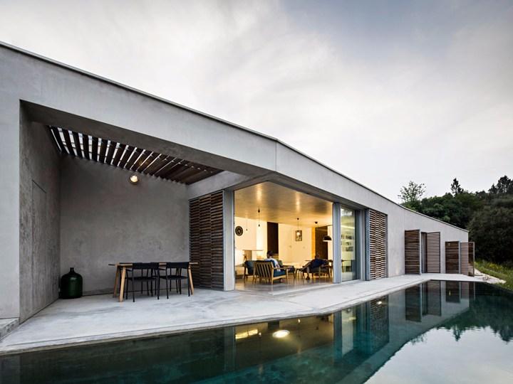 Una casa per le vacanze nella campagna portoghese di Gateira