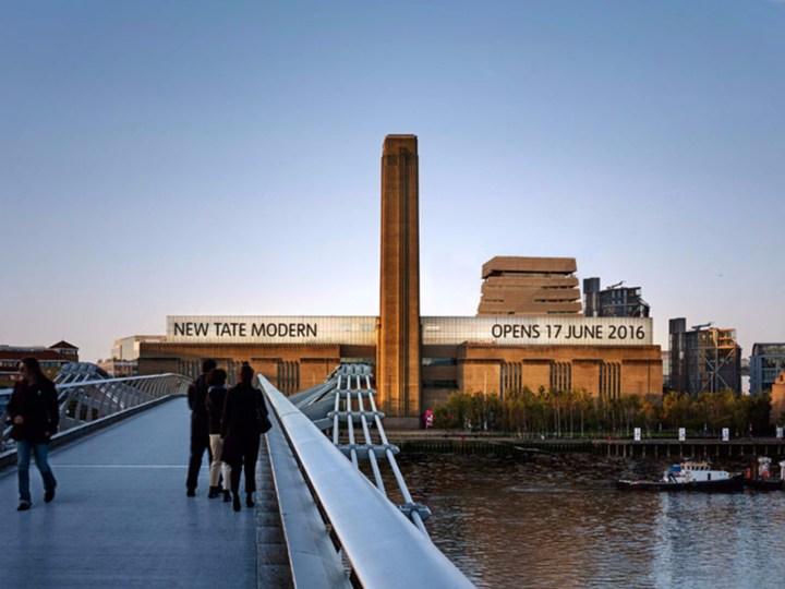 Apre il 17 giugno 2016 la nuova Tate Modern