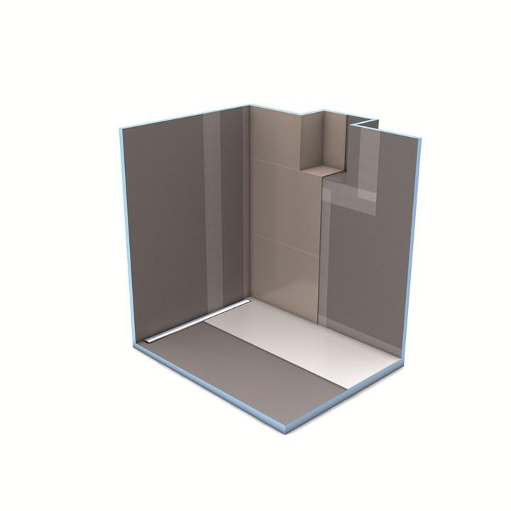 Un grande classico in bagno: il sistema Fundo di Wedi