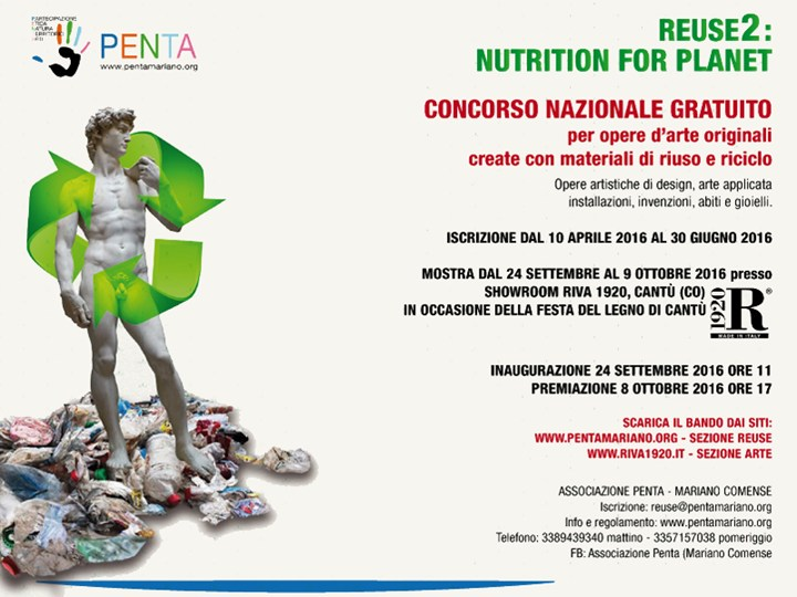 2REUSE_Nutrition for Planet: Il Piacere di...Ri-Creare