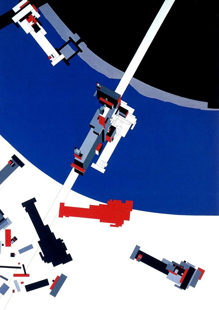 Malevich's Tektonik, Londra, 1976/1977