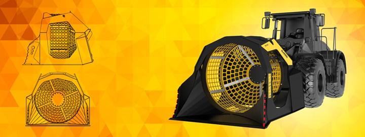 MB presenta la nuova MB-LS220, la benna vagliante per pale e terne di grandi dimensioni