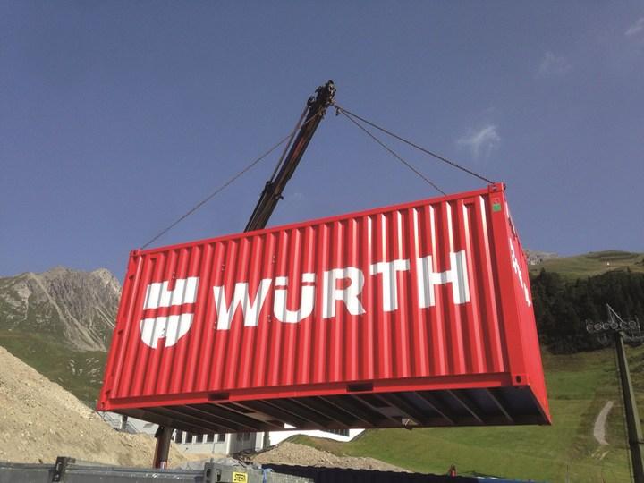 Würth Bauloc: la migliore organizzazione per il tuo cantiere