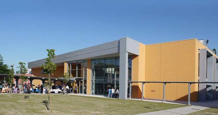 URSA ITALIA in festa a Bondeno per la ricostruzione della nuova scuola elementare