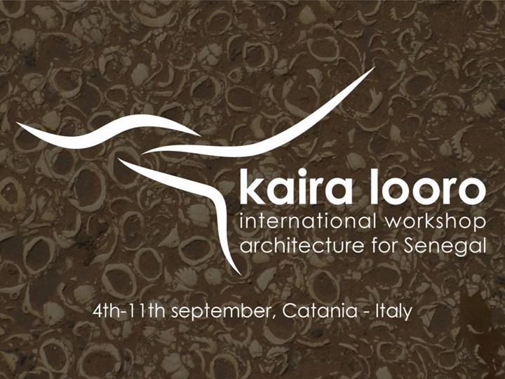 Architettura + cultura Mandinga = Workshop Kaira Looro