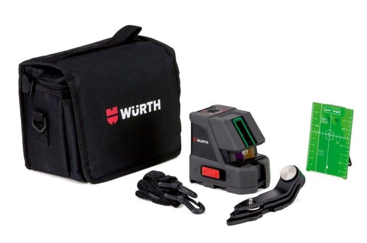 Würth: misuratore laser autolivellante CLG-15